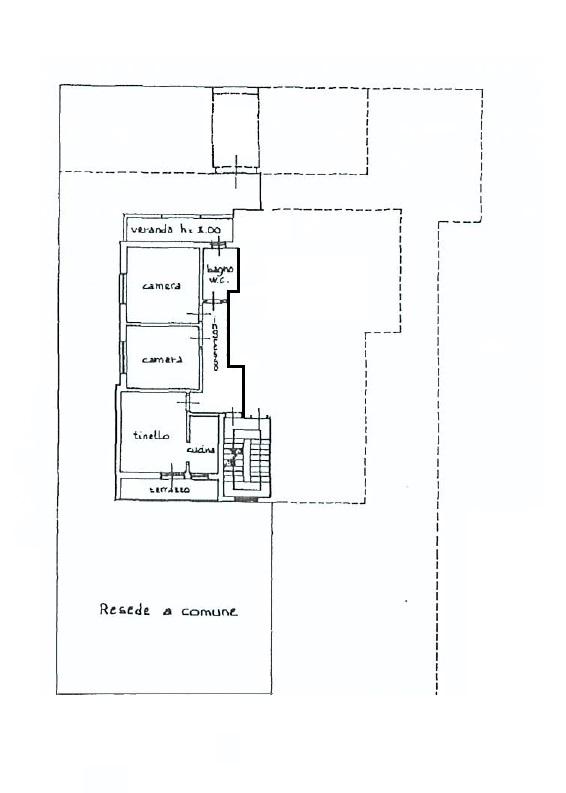 Planimetria 1/1 per rif. B/322