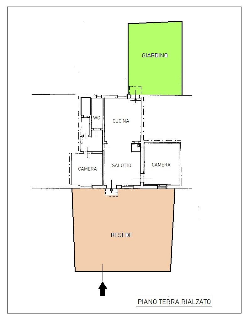 Planimetria 1/1 per rif. B/325