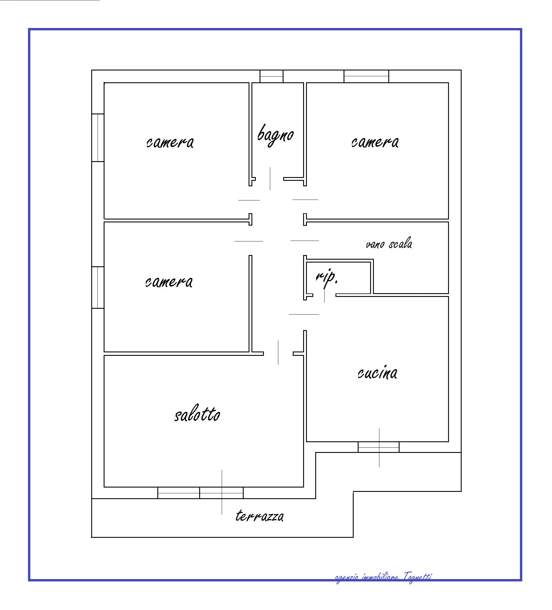 Planimetria 1/1 per rif. B/329