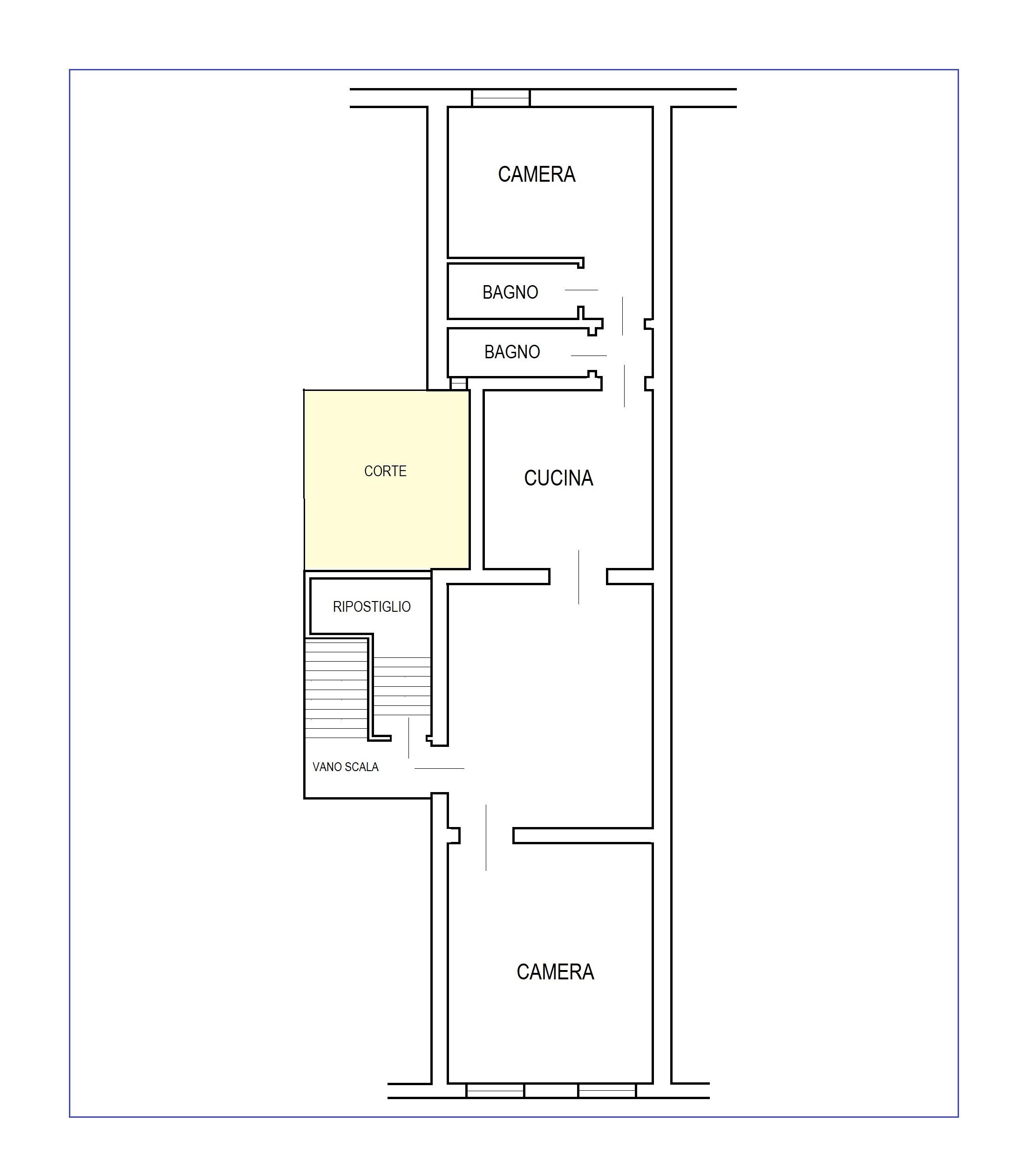Planimetria 1/1 per rif. B/328