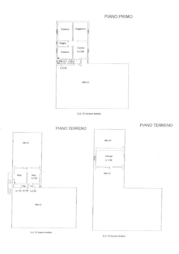 Planimetria 1/1 per rif. 013