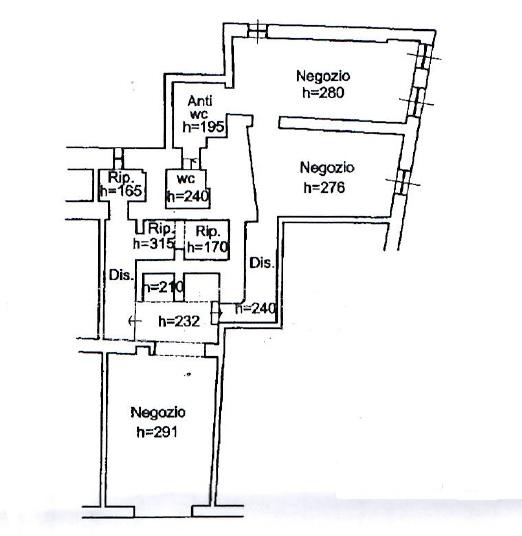 Planimetria 1/1 per rif. 018