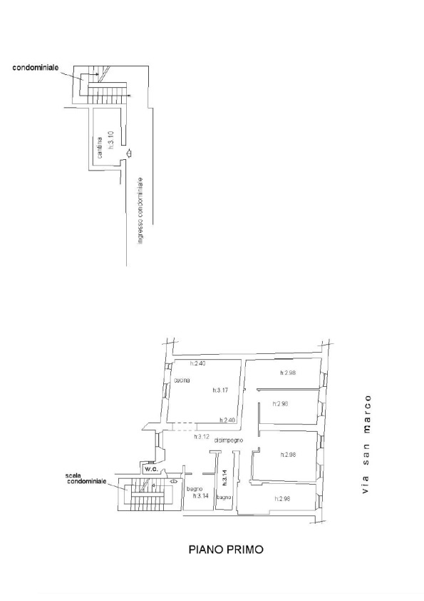 Planimetria 1/1 per rif. 019