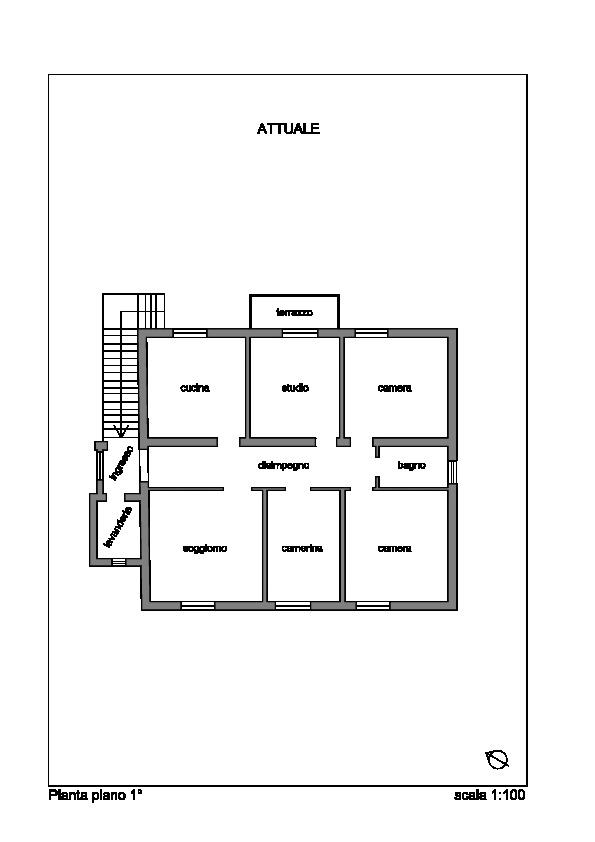 Planimetria 1/2 per rif. 020