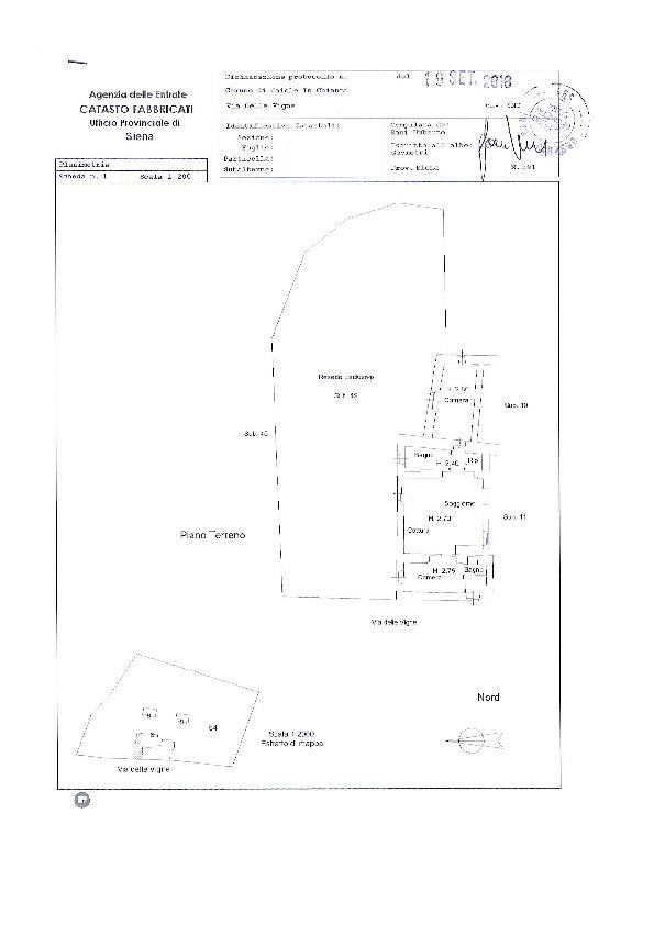 Planimetria 1/1 per rif. 033