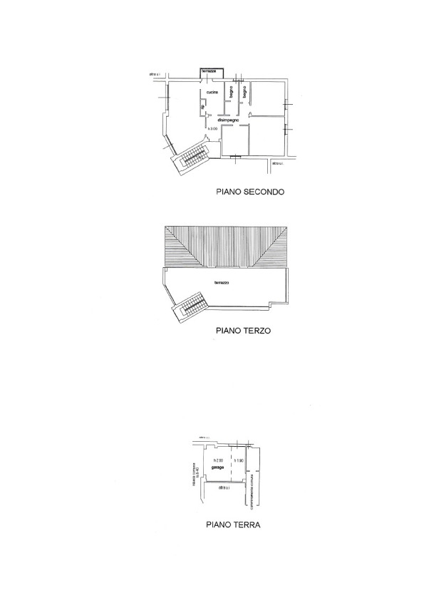 Planimetria 1/1 per rif. 039