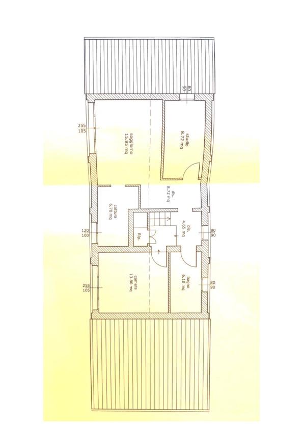 Planimetria 2/2 per rif. 053