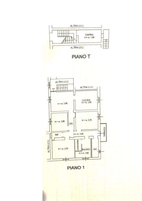 Planimetria 1/1 per rif. 058