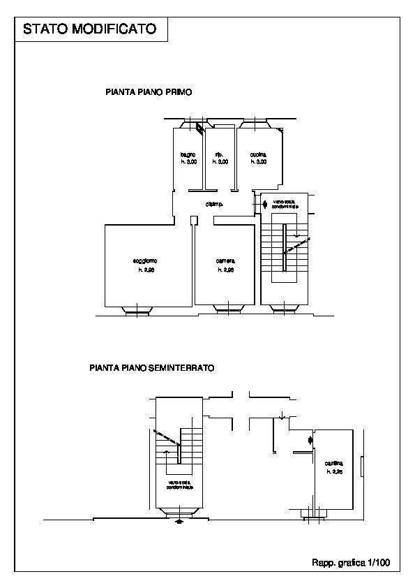 Planimetria 1/1 per rif. 069