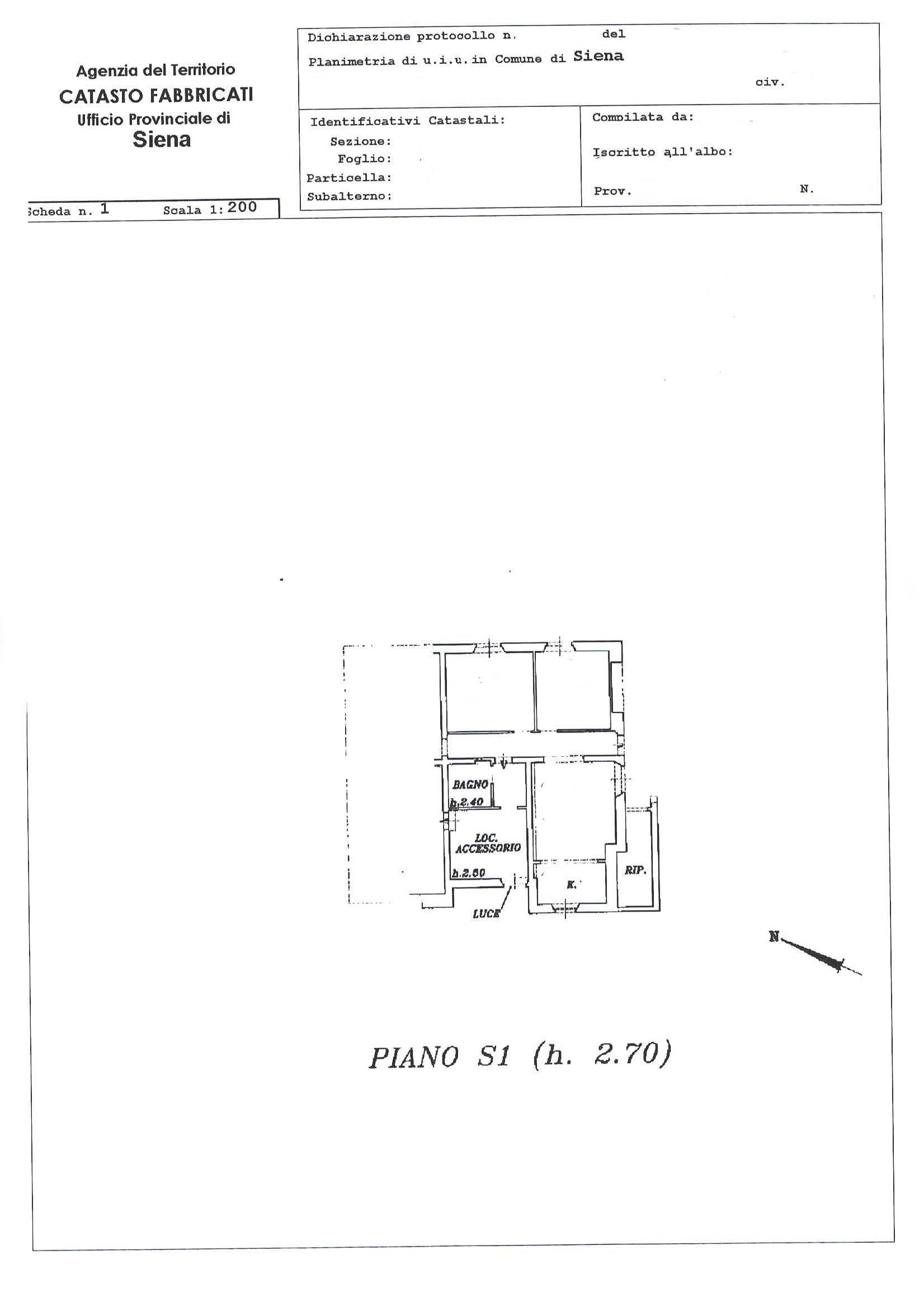 Planimetria 2/3 per rif. 074