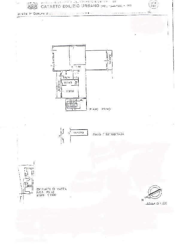Planimetria 1/1 per rif. 078
