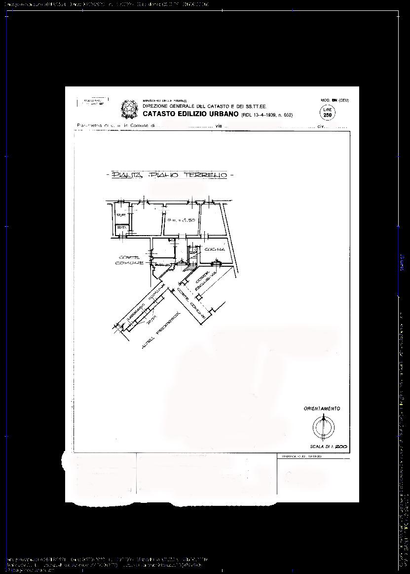 Planimetria 1/1 per rif. 082