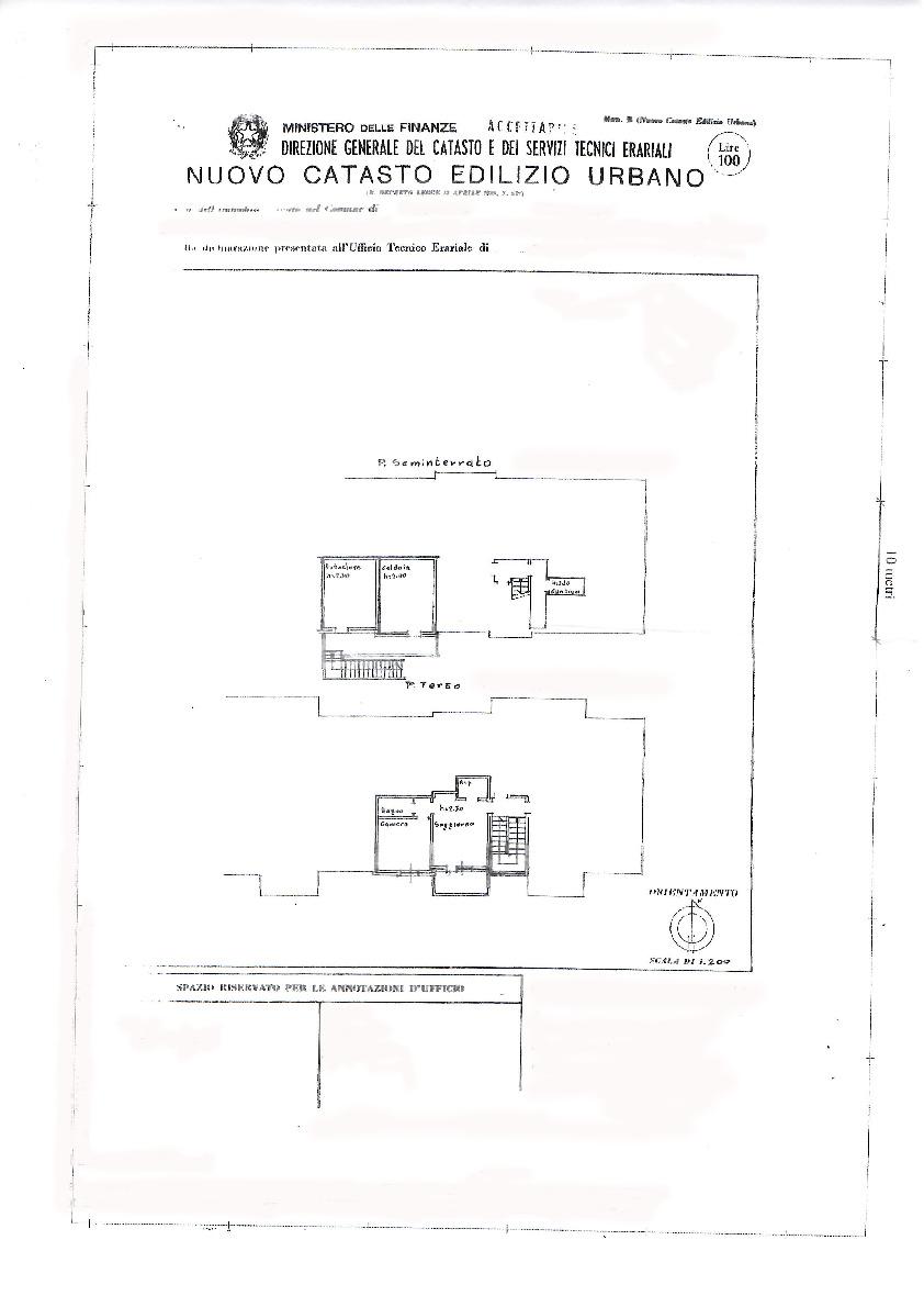 Planimetria 1/1 per rif. 091