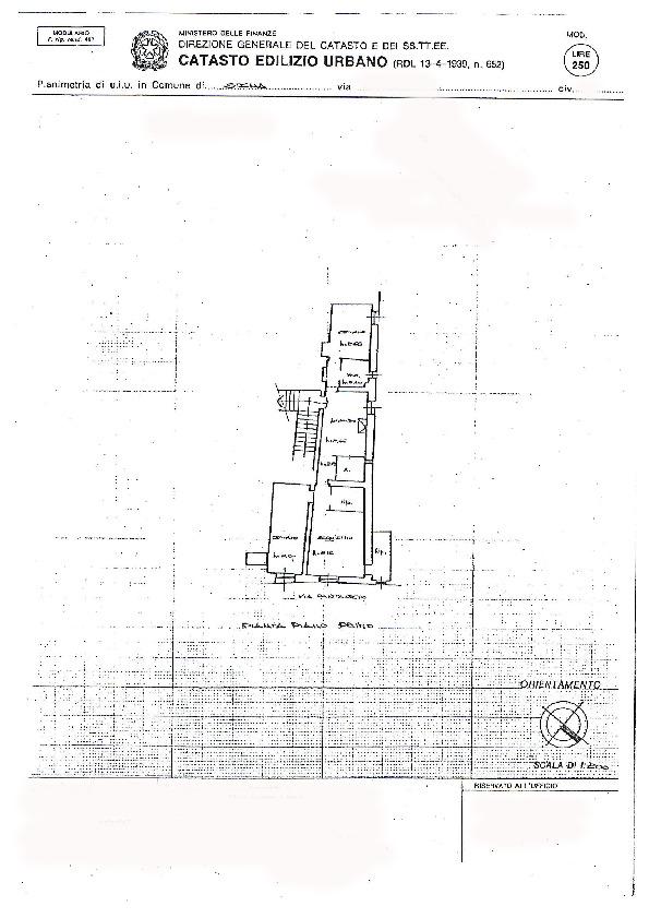 Planimetria 1/1 per rif. 094