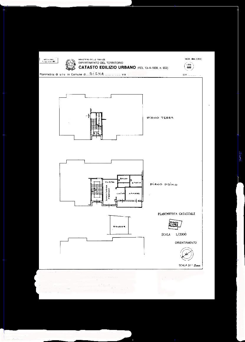 Planimetria 1/1 per rif. 096