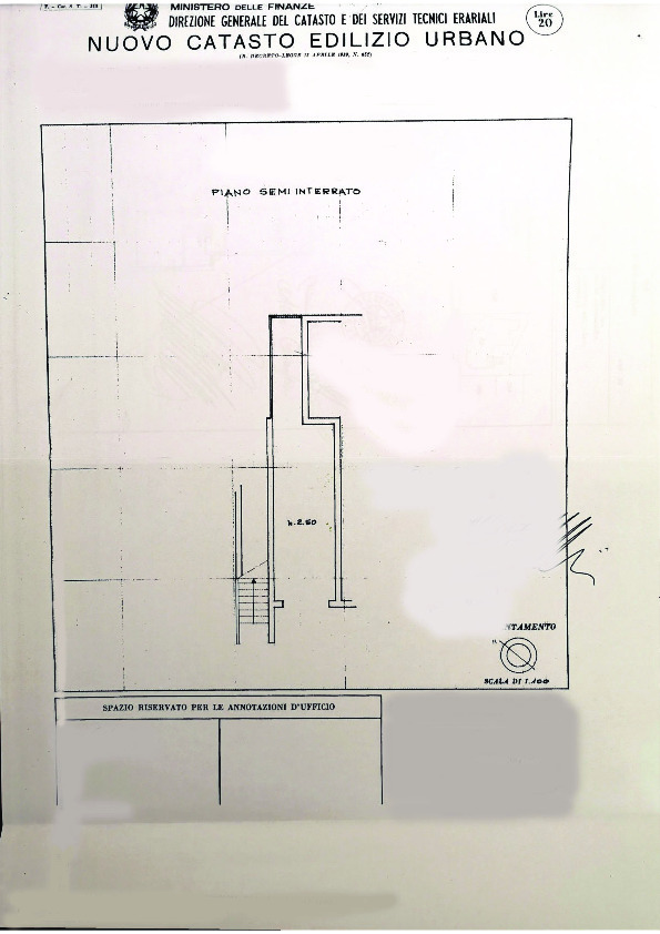 Planimetria 2/2 per rif. 097