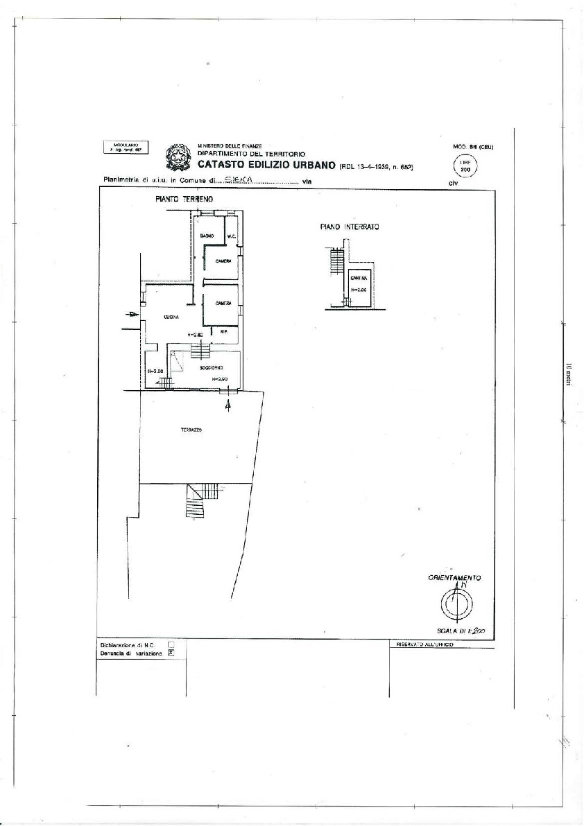 Plan 1/3 for ref. 106