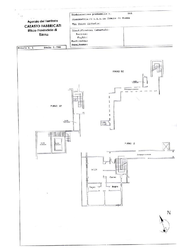 Planimetria 1/1 per rif. 113