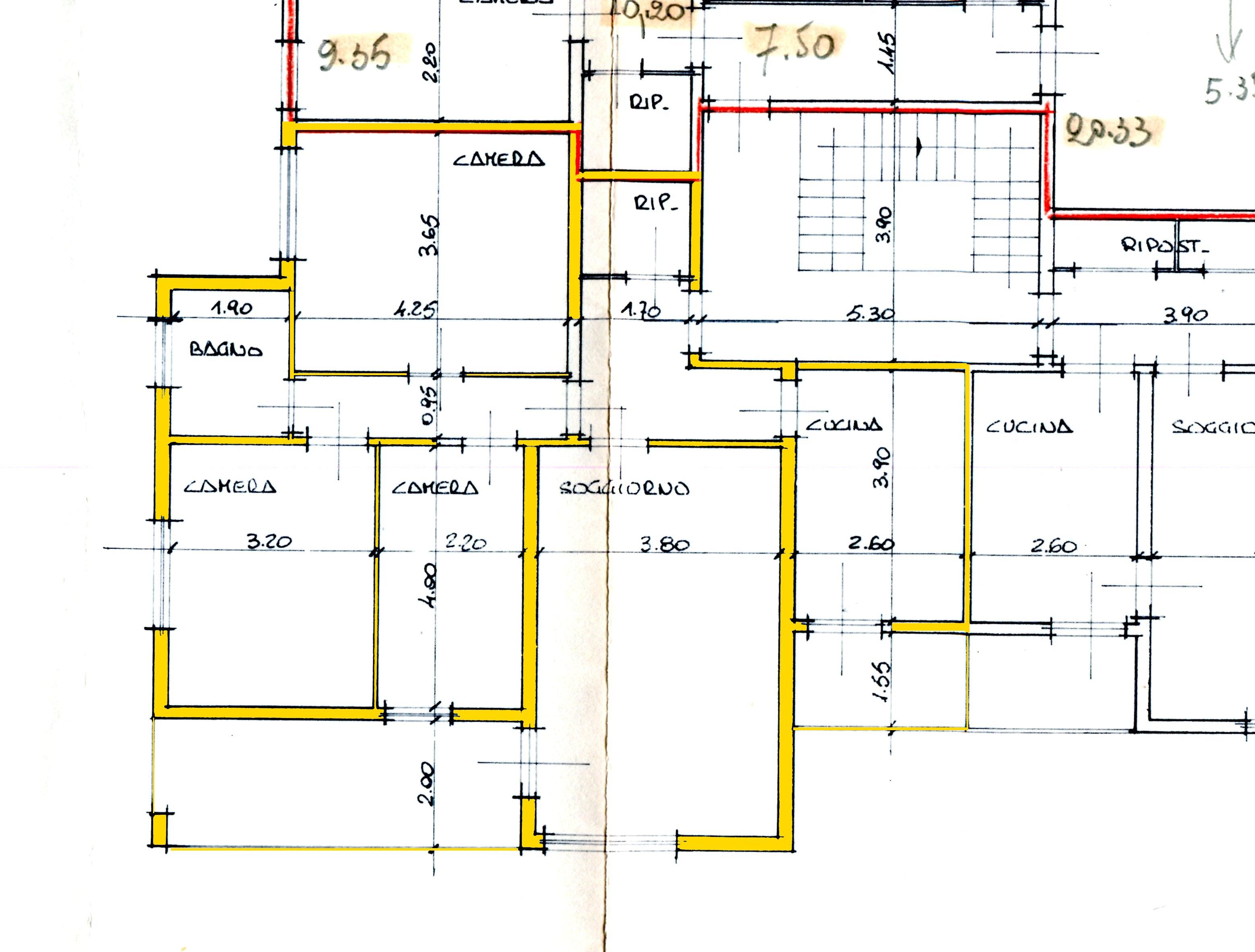 Appartamento in vendita, rif. 00432 (Planimetria 1/1)