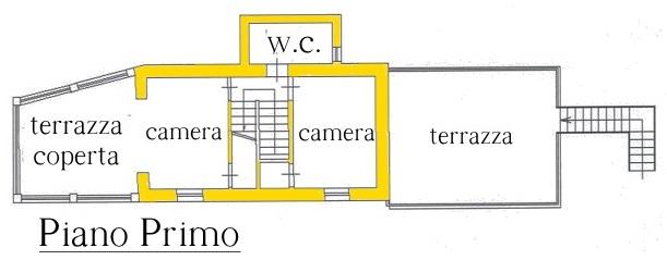 Terratetto in vendita, rif. 01728 (Planimetria 1/3)