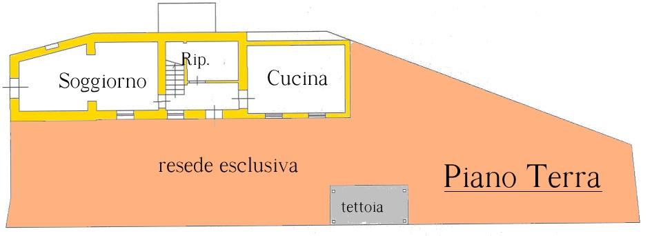 Terratetto in vendita, rif. 01728 (Planimetria 2/3)