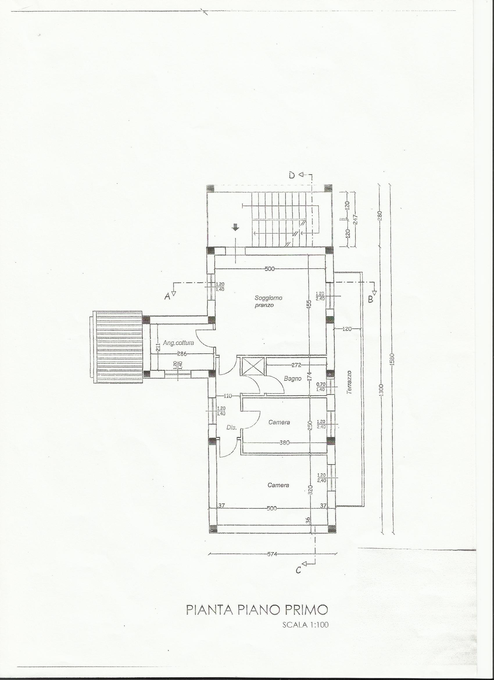 Appartamento in vendita, rif. 00874 (Planimetria 1/1)