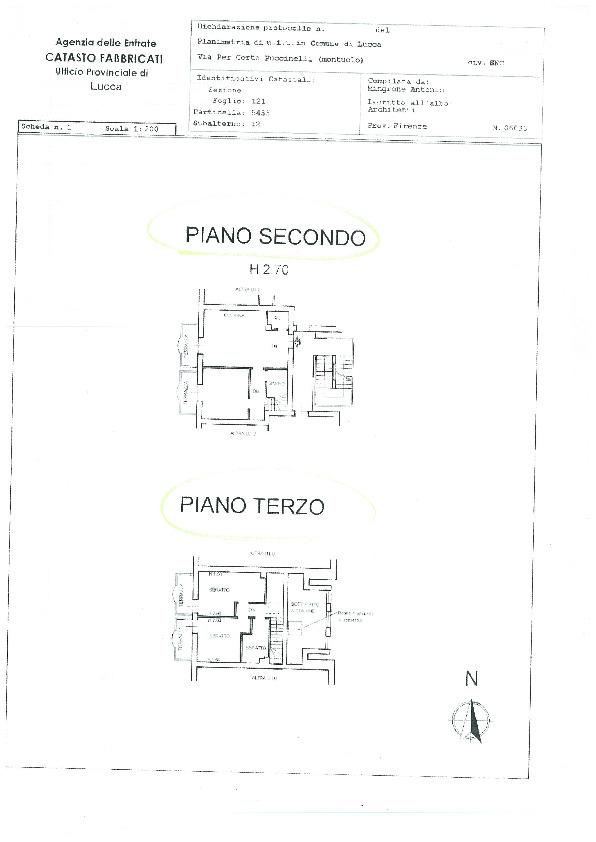 Appartamento in vendita, rif. 00418 (Planimetria 1/1)