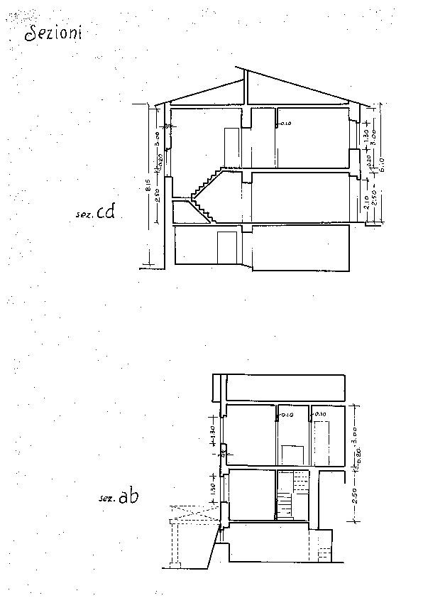 Terratetto in vendita, rif. 02015 (Planimetria 1/2)