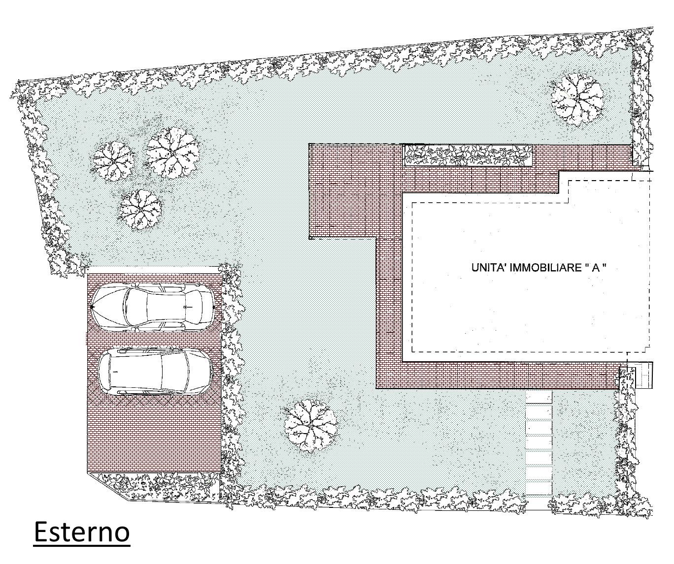 Villetta a schiera in vendita, rif. 02104/1 (Planimetria 3/3)