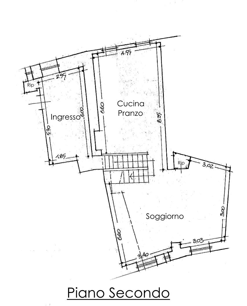 Appartamento in vendita, rif. 02218 (Planimetria 1/2)