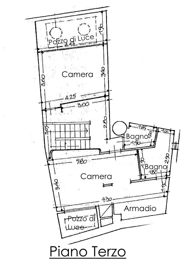 Appartamento in vendita, rif. 02218 (Planimetria 2/2)