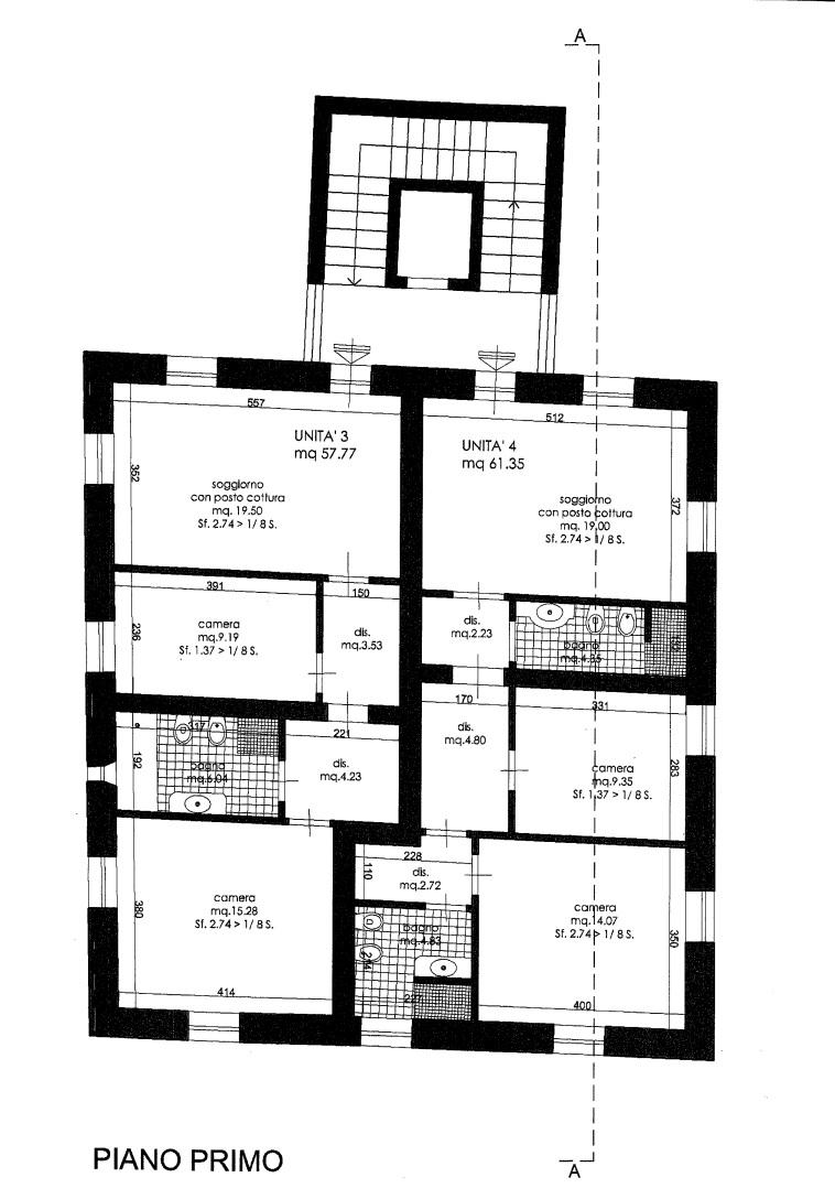 Appartamento in vendita, rif. 02187 (Planimetria 1/1)