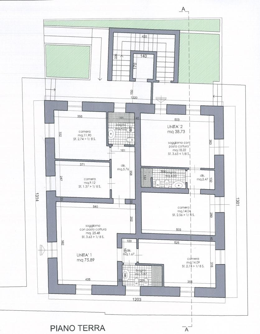 Appartamento in vendita, rif. 02189 (Planimetria 1/1)
