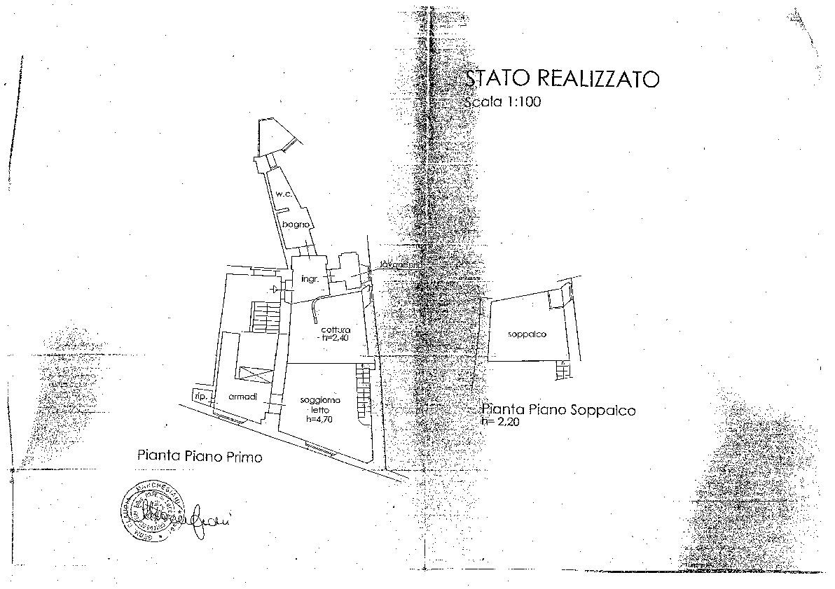 Appartamento in vendita, rif. 02199 (Planimetria 1/1)