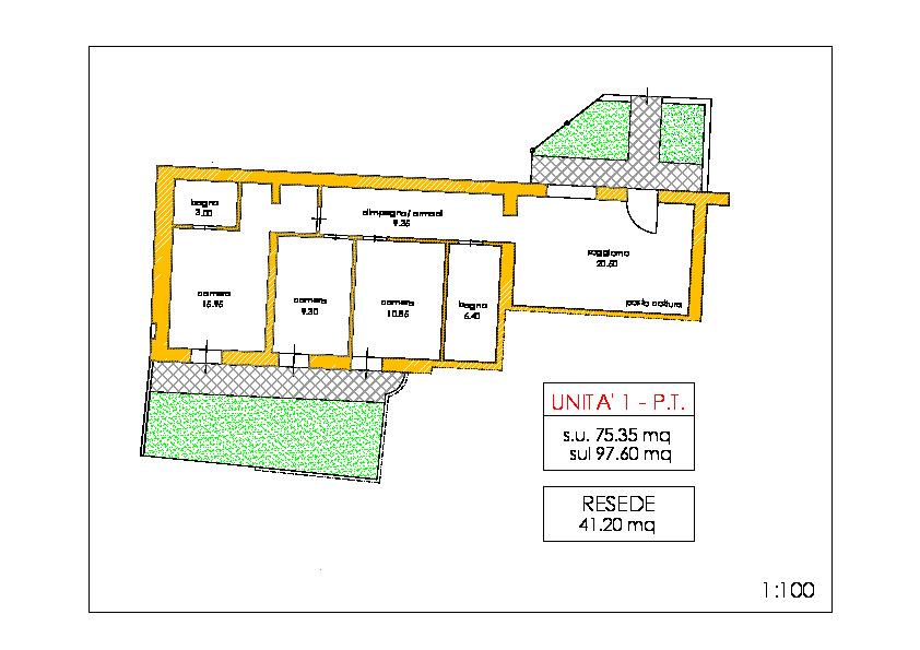 Appartamento in vendita, rif. 02231 (Planimetria 1/1)