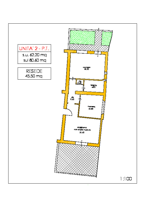 Appartamento in vendita, rif. 02235 (Planimetria 1/1)