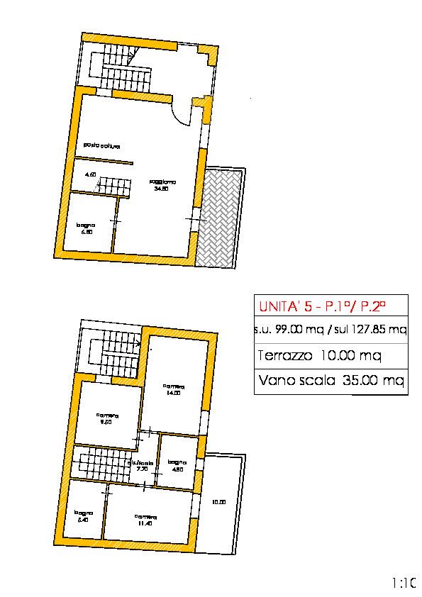 Appartamento in vendita, rif. 02238 (Planimetria 1/1)
