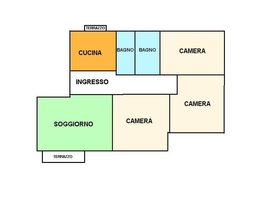 Appartamento in vendita, rif. 02253 (Planimetria 1/1)