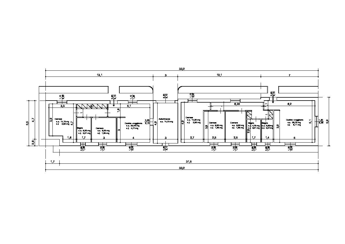 Villetta bifamiliare in vendita, rif. 02288 (Planimetria 1/1)