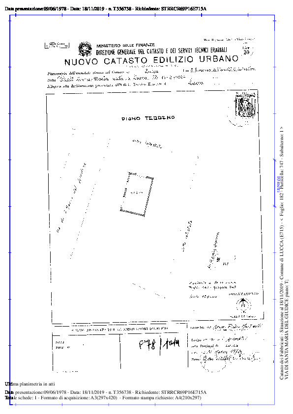 Terratetto in vendita, rif. 02291 (Planimetria 2/5)
