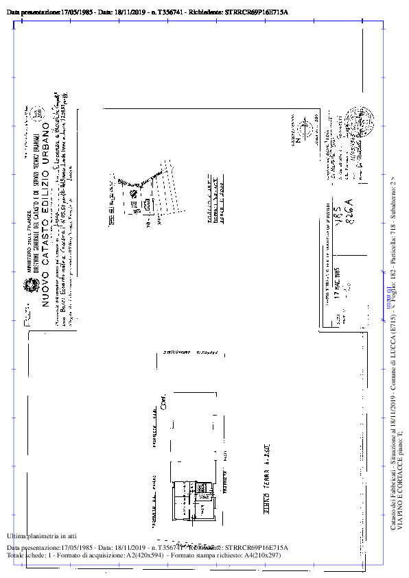 Terratetto in vendita, rif. 02291 (Planimetria 5/5)