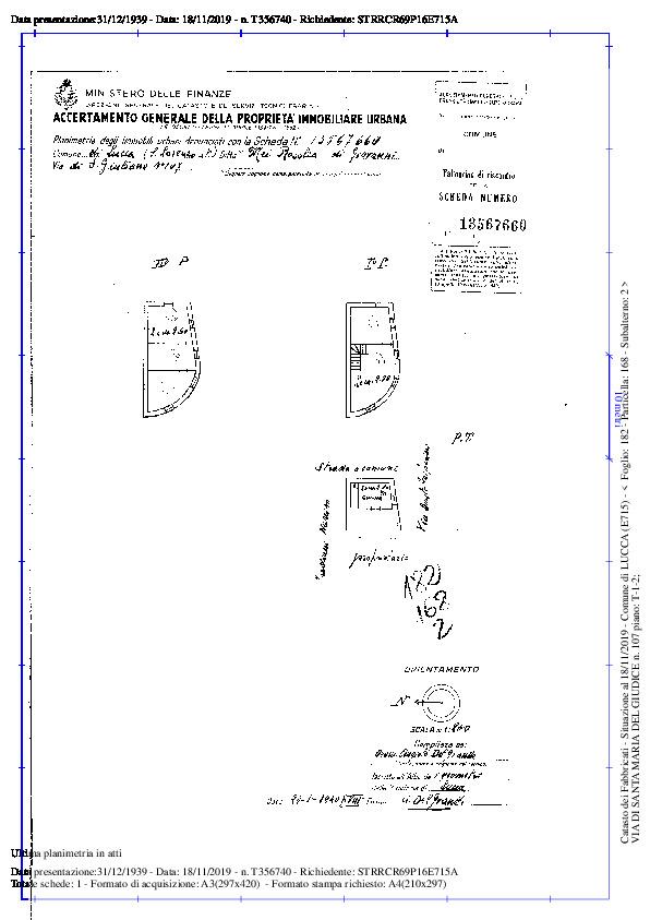 Terratetto in vendita, rif. 02291 (Planimetria 4/5)