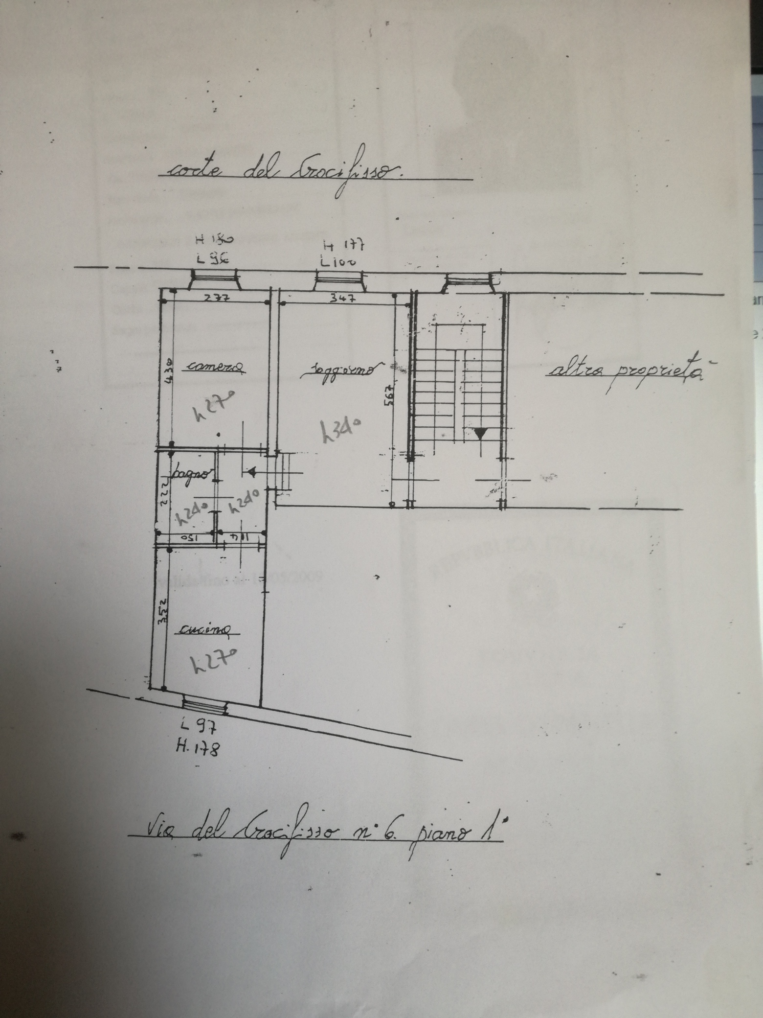 Appartamento in vendita, rif. 02304 (Planimetria 1/1)