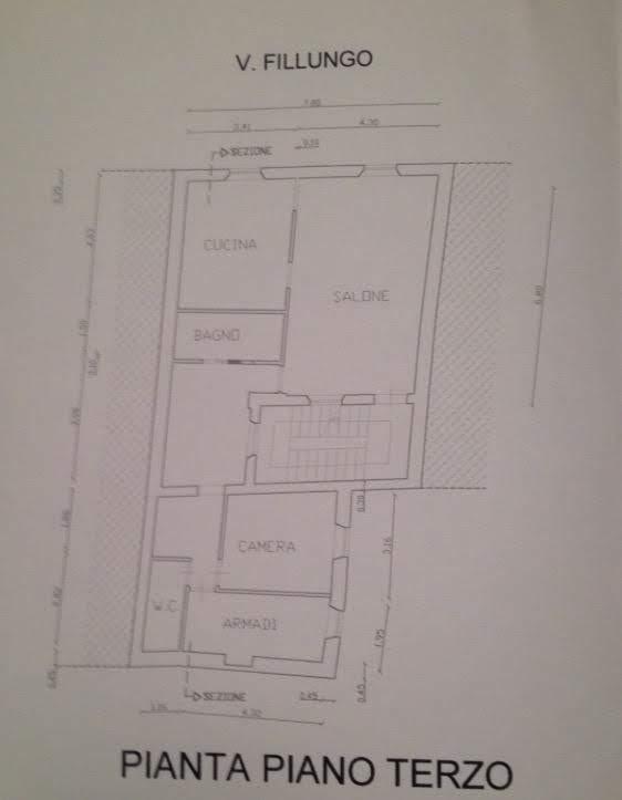 Appartamento in vendita, rif. 02305 (Planimetria 1/1)