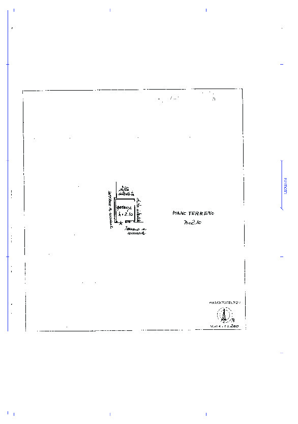 Appartamento in vendita, rif. 02313 (Planimetria 2/2)