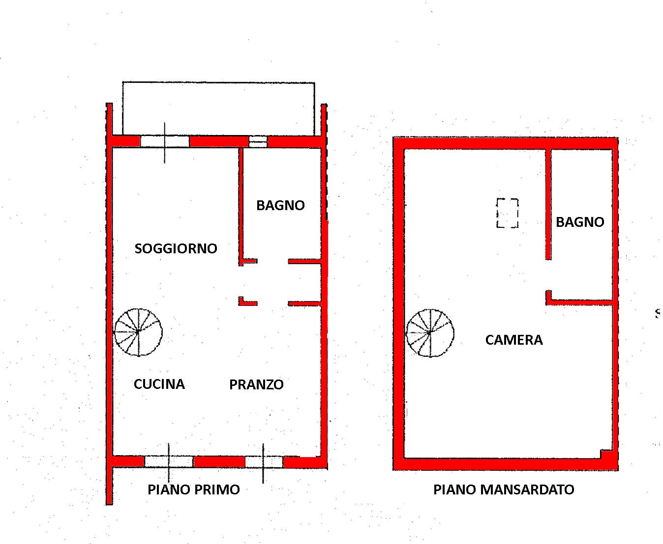 Appartamento in vendita, rif. 02316 (Planimetria 1/1)