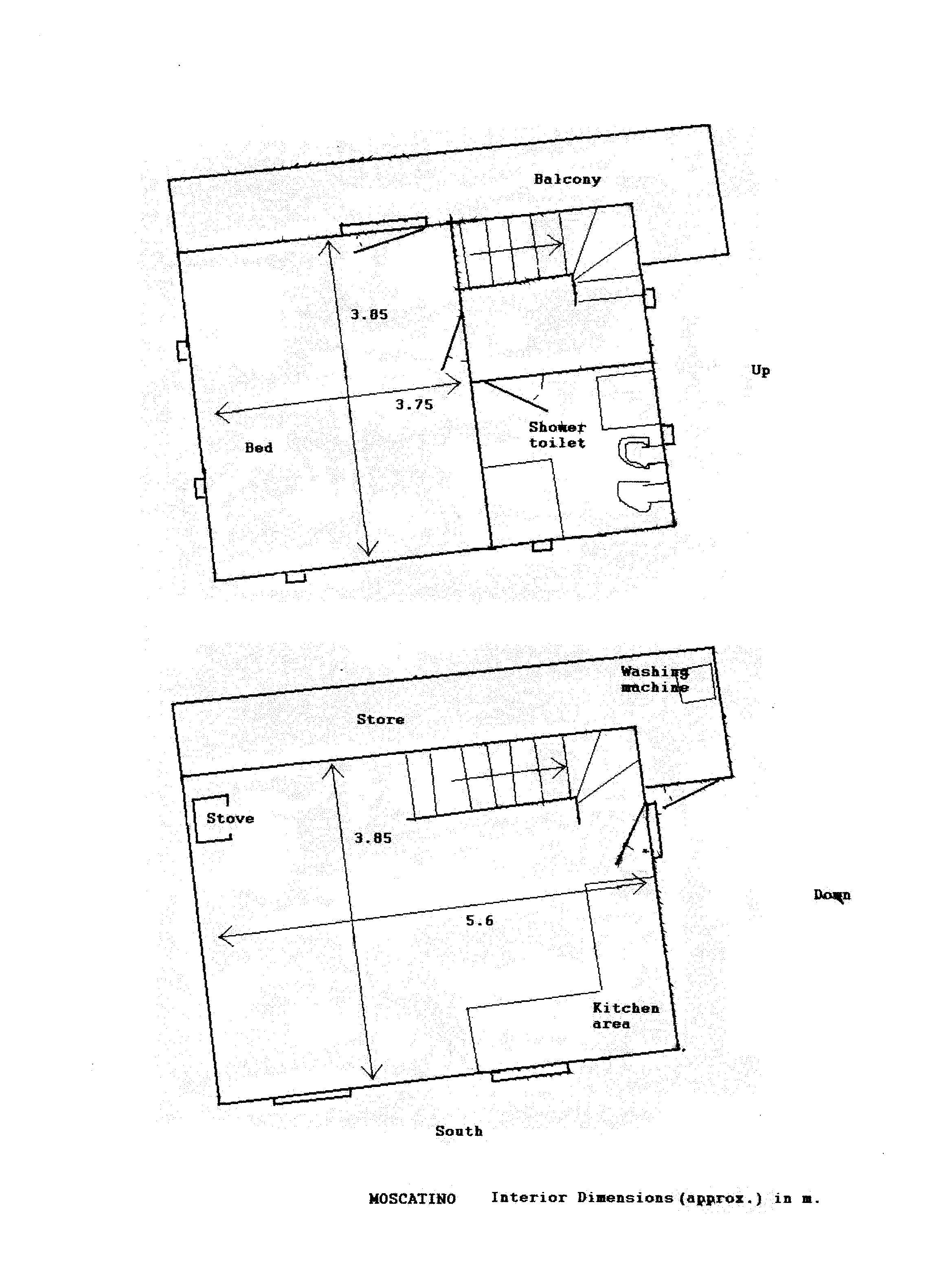 Rustico in vendita, rif. 02324 (Planimetria 2/2)
