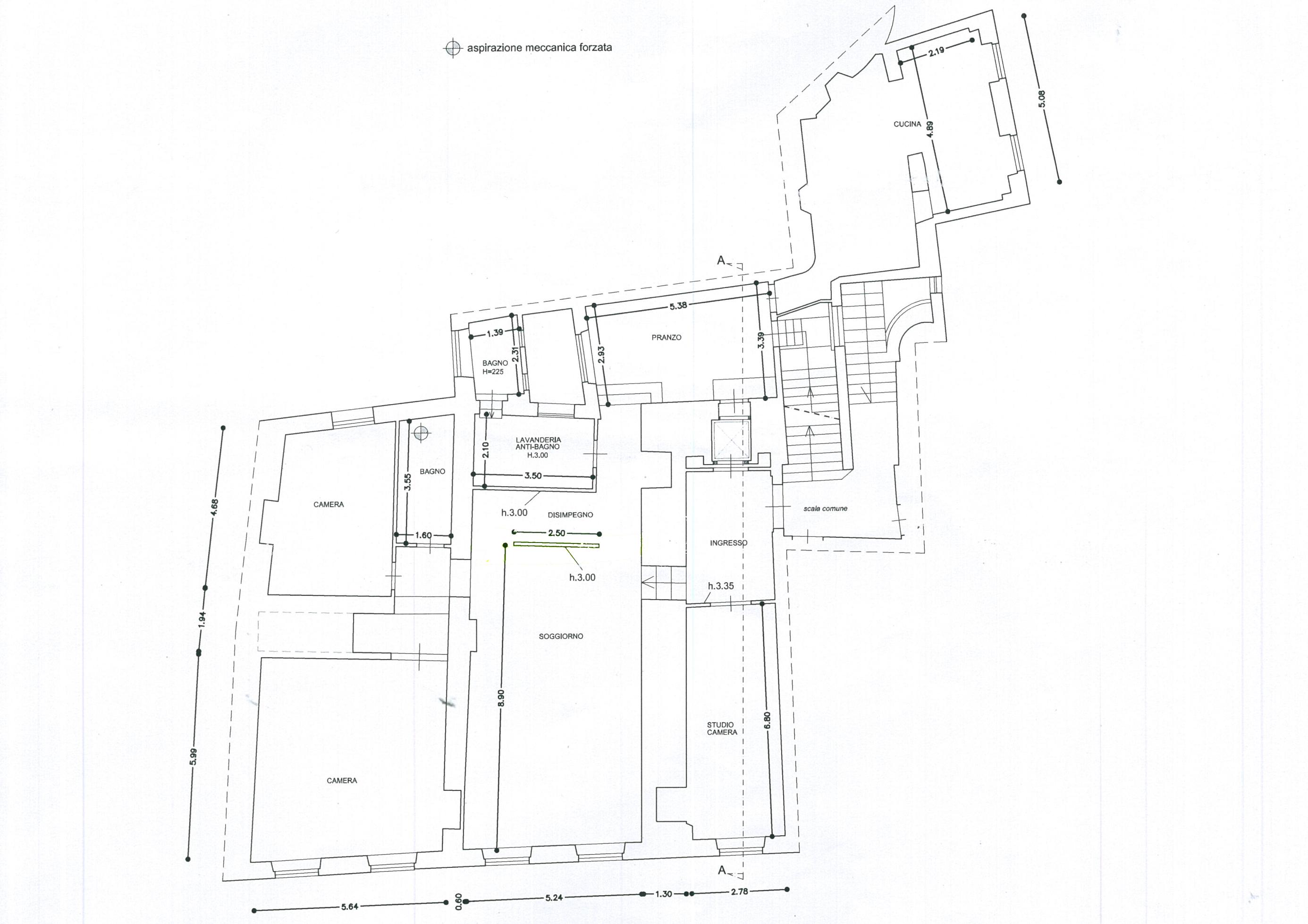 Appartamento in vendita, rif. 02337 (Planimetria 1/1)