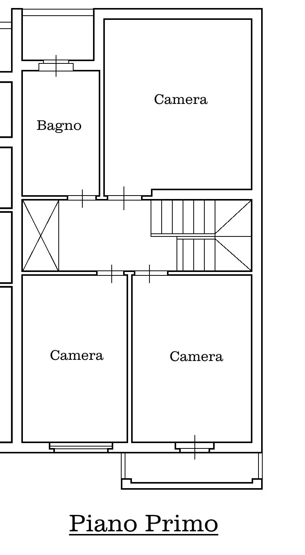 Villetta a schiera in vendita, rif. 02338 (Planimetria 3/4)