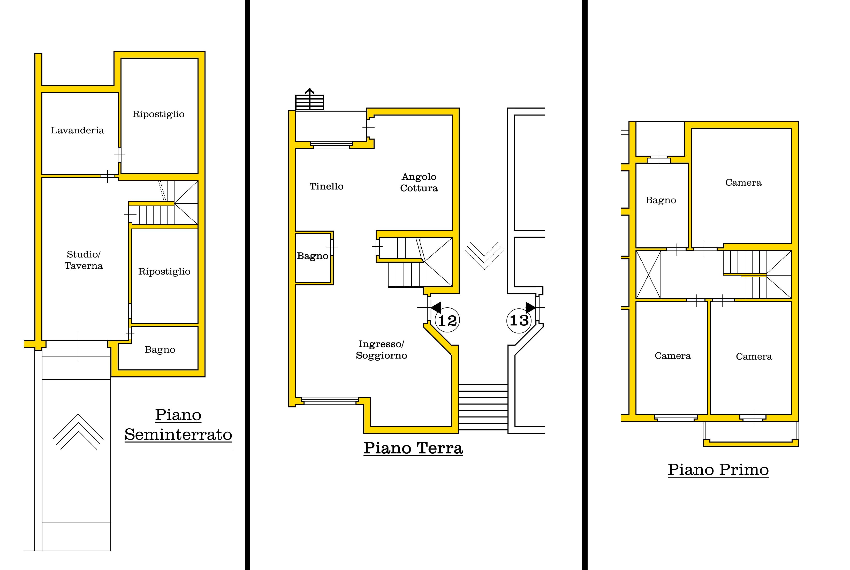 Villetta a schiera in vendita, rif. 02338 (Planimetria 4/4)